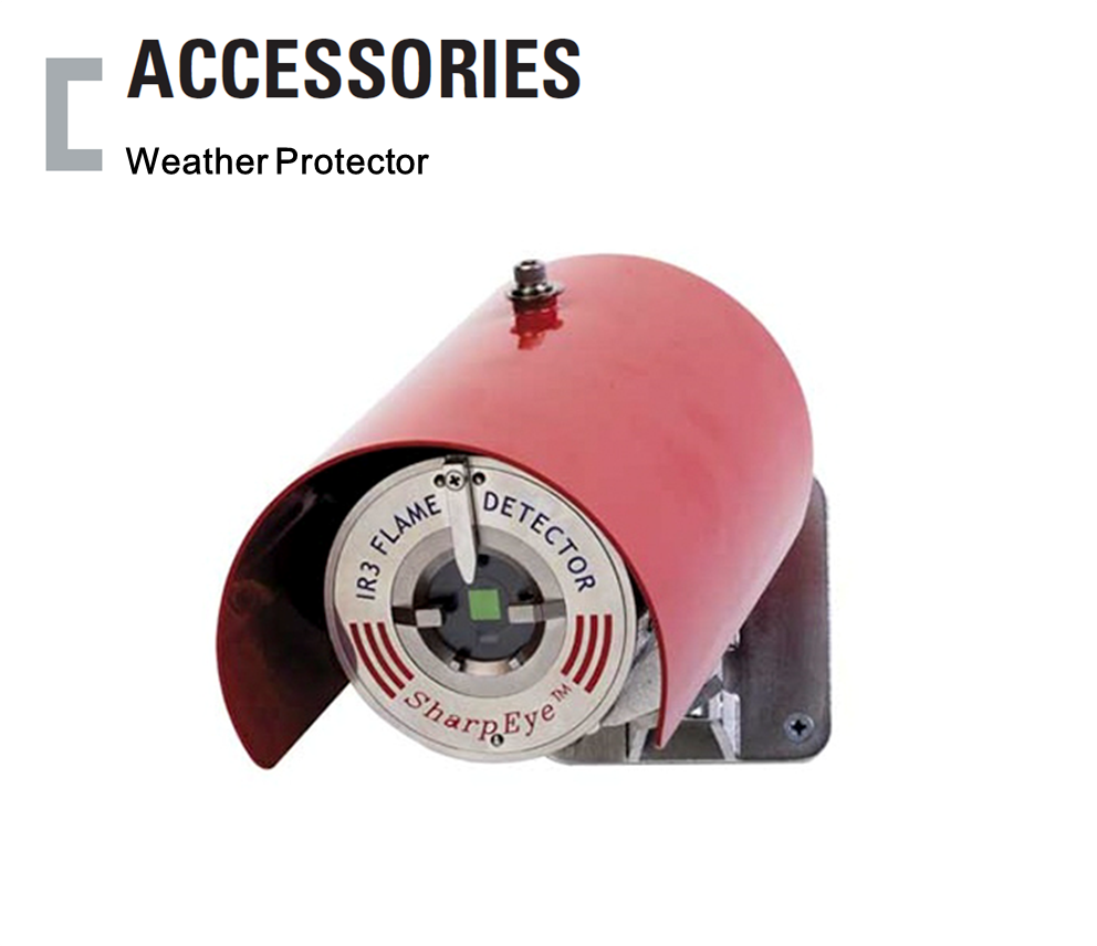 Weather Protector, 불꽃감지기 Accessories